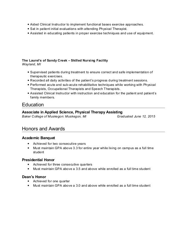 leading professional physical therapist cover letter examples leading