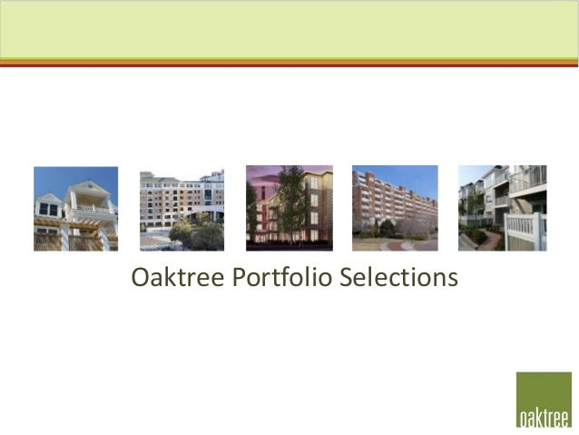 Oaktree Portfolio Selections