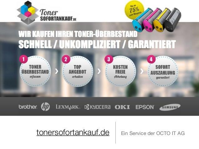 tonersofortankauf.de Ein Service der OCTO IT AG