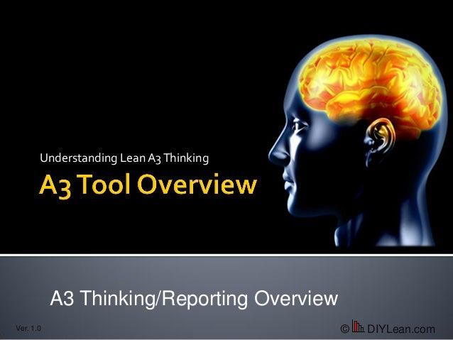 A3 Reporting Presentation