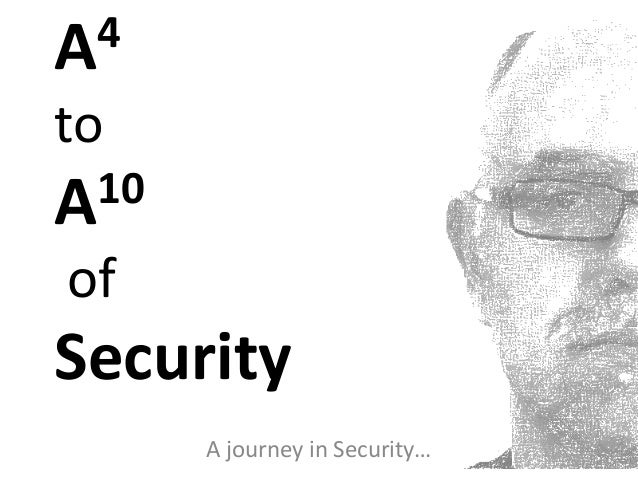 A4 to A10 of security V3.1
