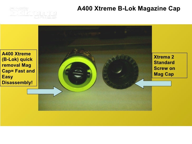 Beretta A400 Xtreme Magazine Extension A400 Xtreme B-lok Magazine Cap