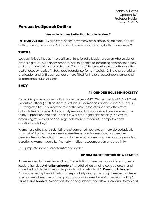 act persuasive essay outline Persuasive speech outline - nail that speech using monroe's motivated sequence - the logical, powerful and proven 5 step pattern underpinning the psychology of persuasion.