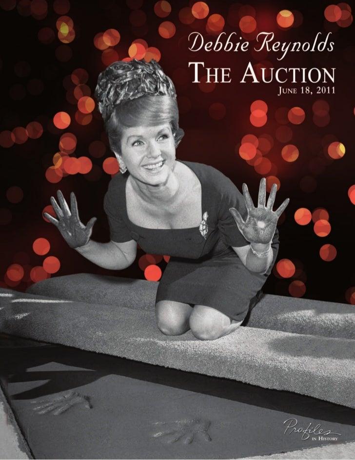 Catálogo de Debbie Reynolds
