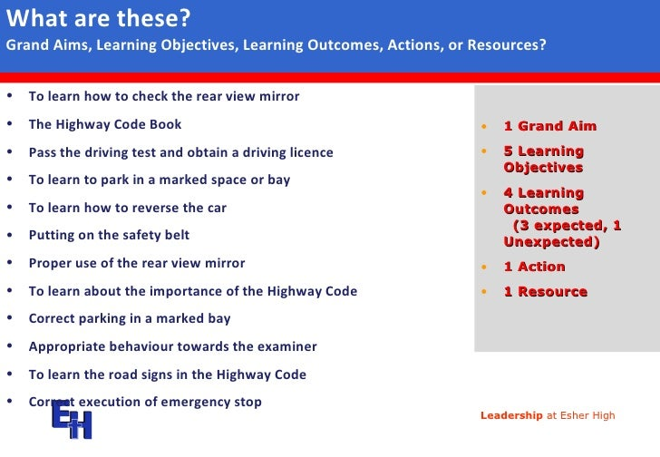 difference between learning outcomes and learning Want to know what is the difference between learning objectives and learning activities explore of the learning objectives vs learning activities premise  having clearly defined learning objectives helps in better assessments and evaluations and ultimately in better learning outcomes in order to make the learning objectives successful it.