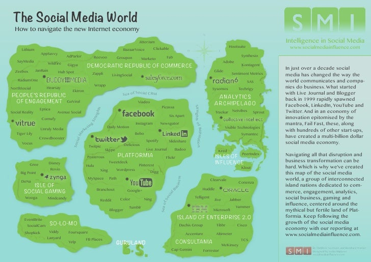 The Social Media World  How to navigate the new Internet economy                                                          ...