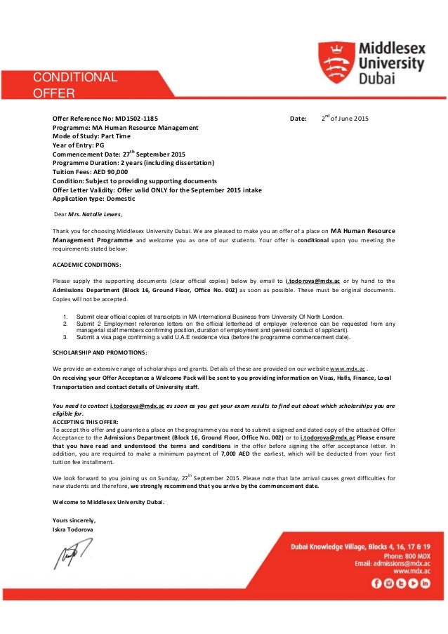 Uq Cover Letter Template