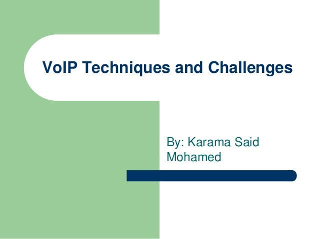 research papers on voip technology
