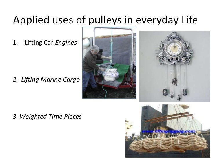 A 6 page presentation on the pulley system for Uses of soil in daily life