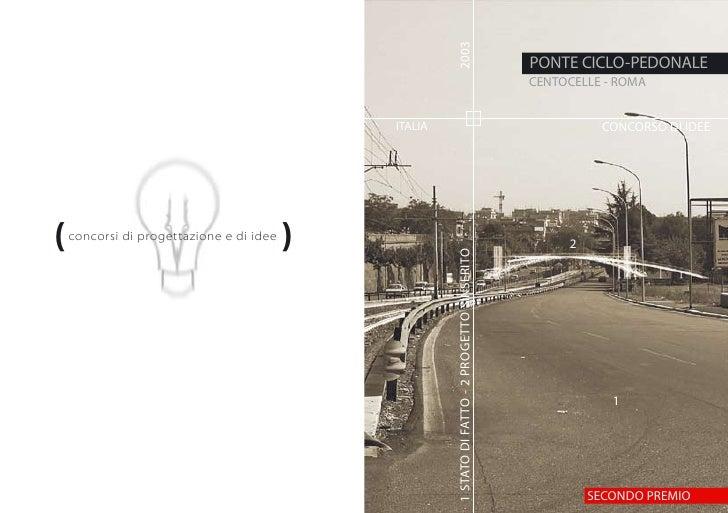 2003                                                                                                  PONTE CICLO-PEDONALE...