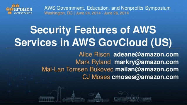 Updating Security Operations for the Cloud - AWS S