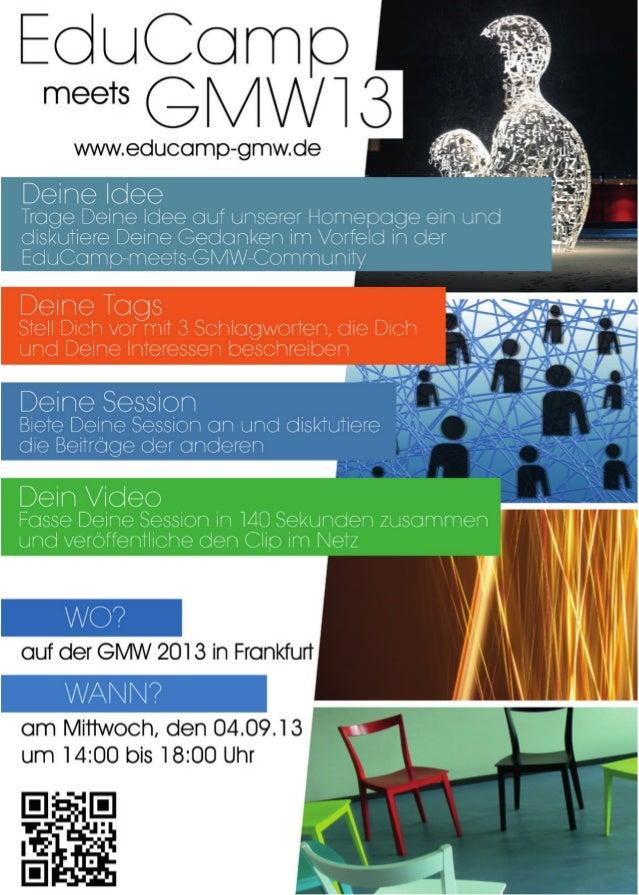 Educamp meets GMW13