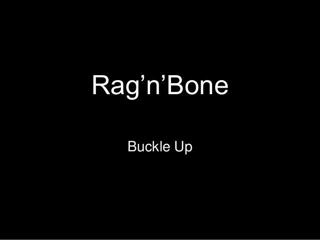 Rag'n'Bone Buckle Up