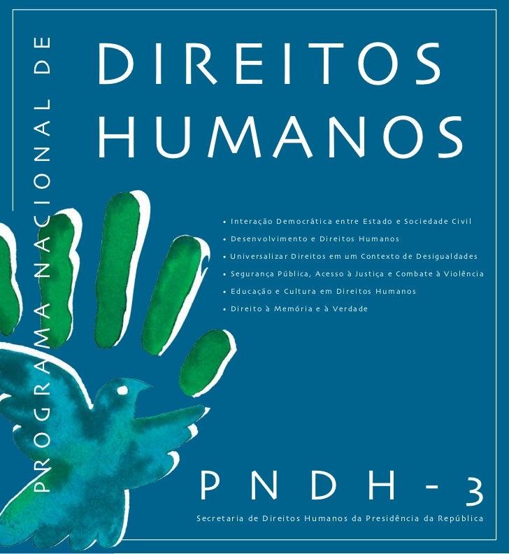 PROGRAMA NACIONAL DE DIREITOS HUMANOS (PNDH-3)