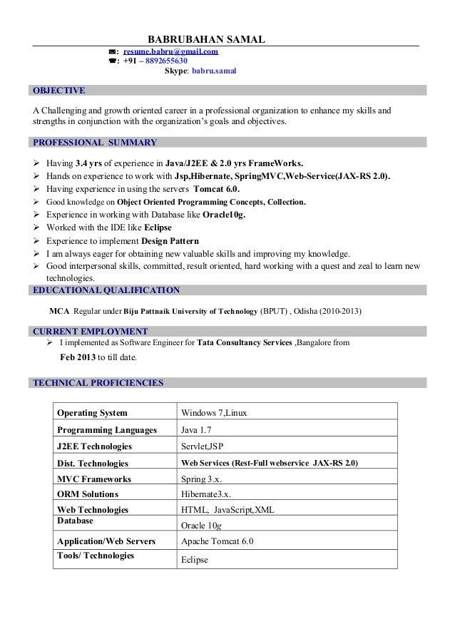 J2ee Java Resume,Download Java J2ee 2 Years Experience Resume ...