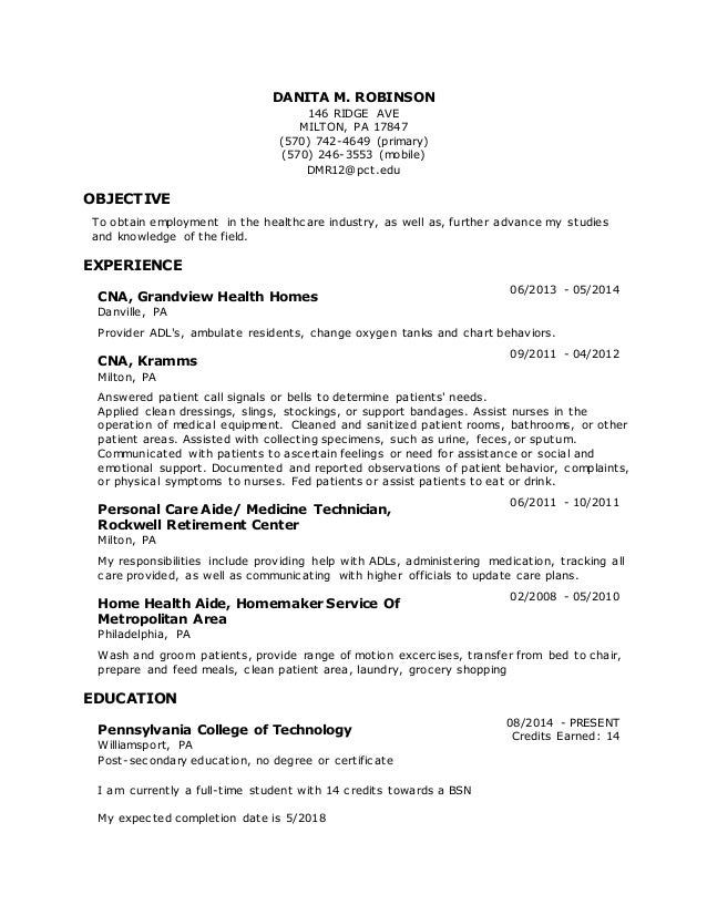 Great Pct Resume Sample Tech Resume Resume Cv Cover Letter Pct Resume