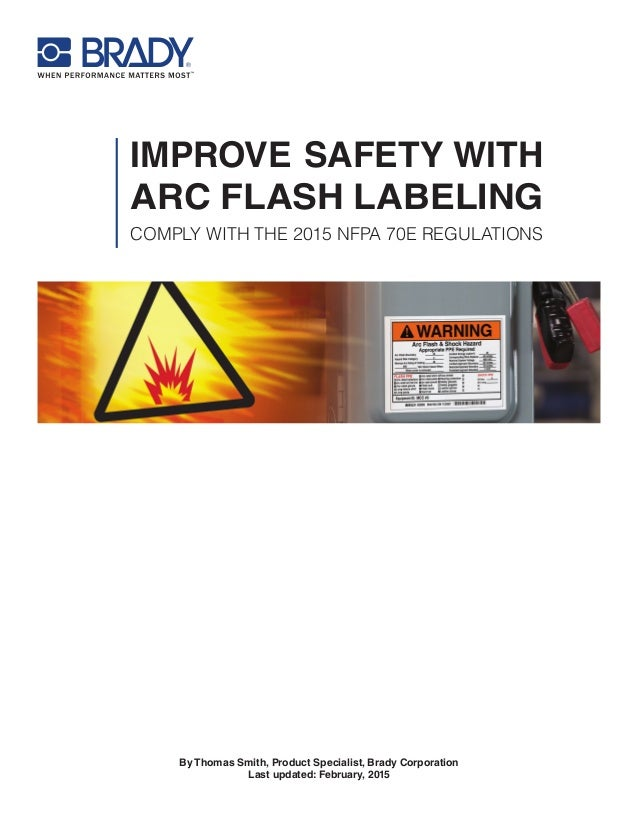Arc flash labeling whitepaper for How to read arc flash labels