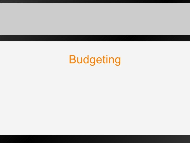 Budgeting In Public Relations
