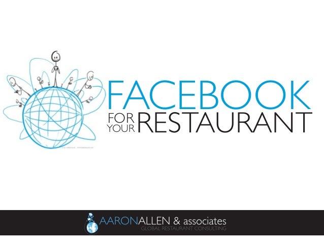 Facebook for Your Restaurant
