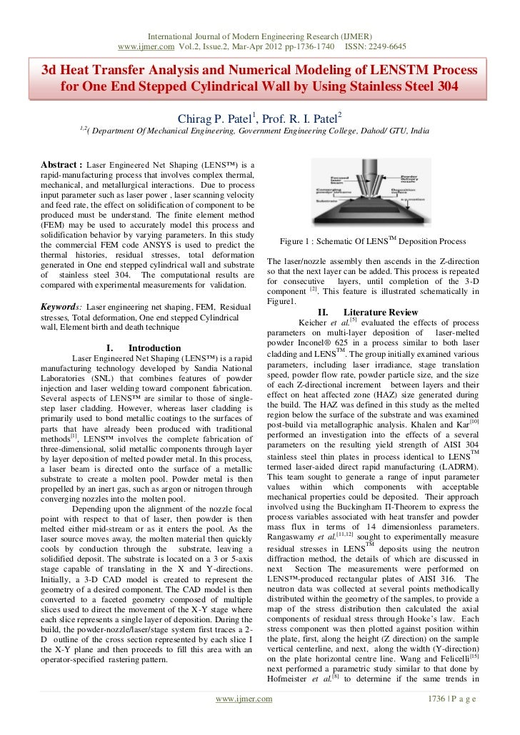 International Journal of Modern Engineering Research (IJMER)                           www.ijmer.com Vol.2, Issue.2, Mar-A...