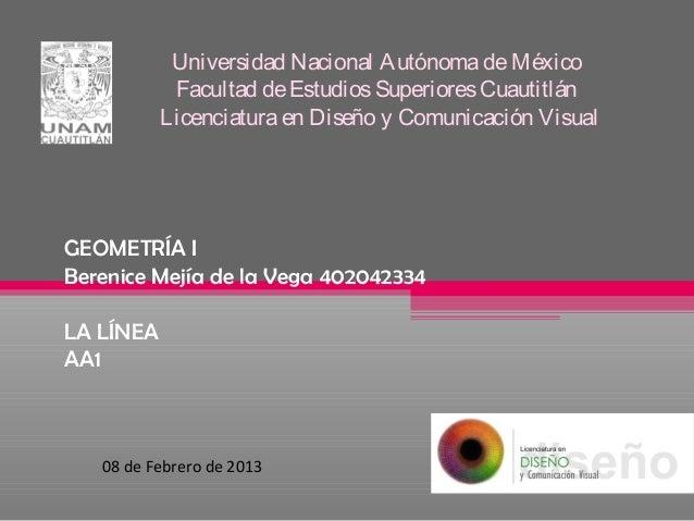 Universidad Nacional Autónoma de México            Facultad de Estudios Superiores Cuautitlán           Licenciatura en Di...