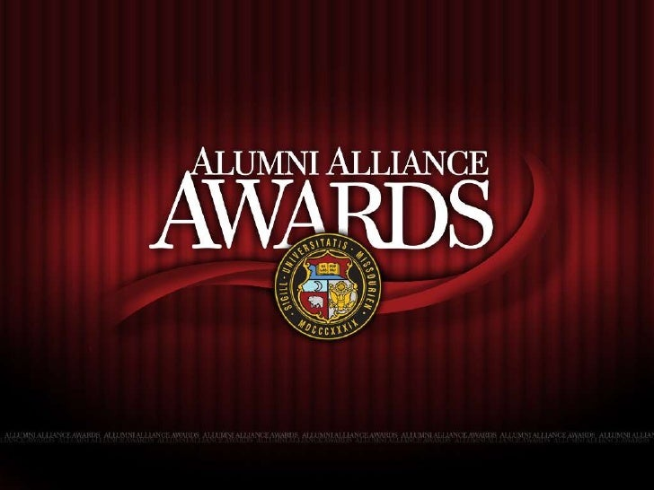 Alumni Alliance Awards Presentation 2010
