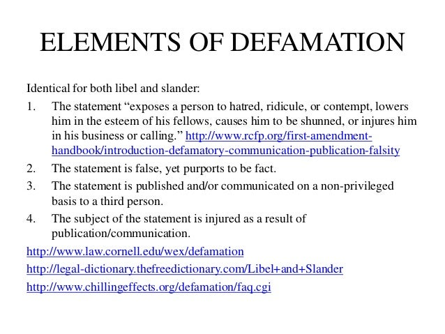 defamation notes The mission of adl is to stop the defamation of the jewish people and to secure justice and fair treatment to all.