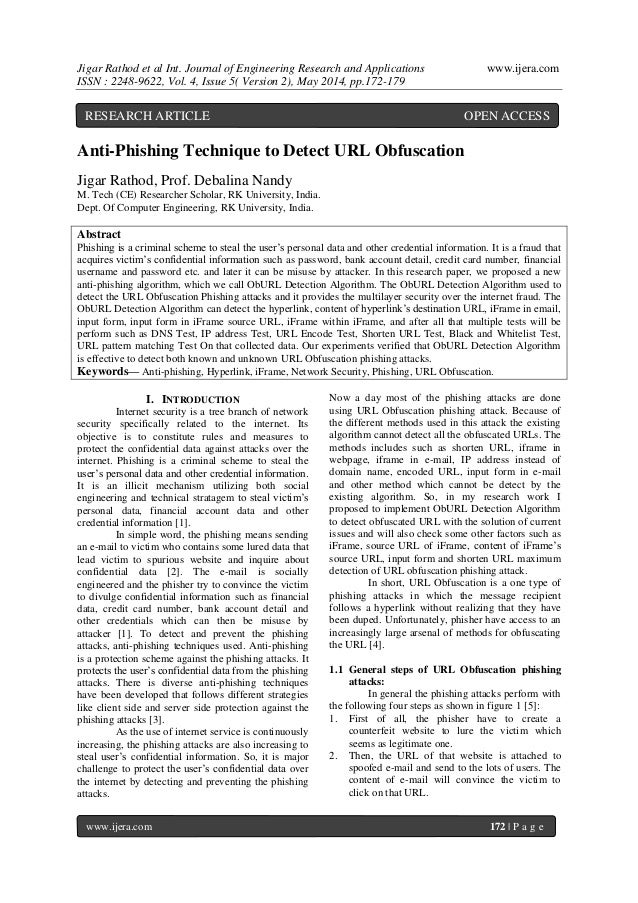 Jigar Rathod et al Int. Journal of Engineering Research and Applications www.ijera.com ISSN : 2248-9622, Vol. 4, Issue 5( ...