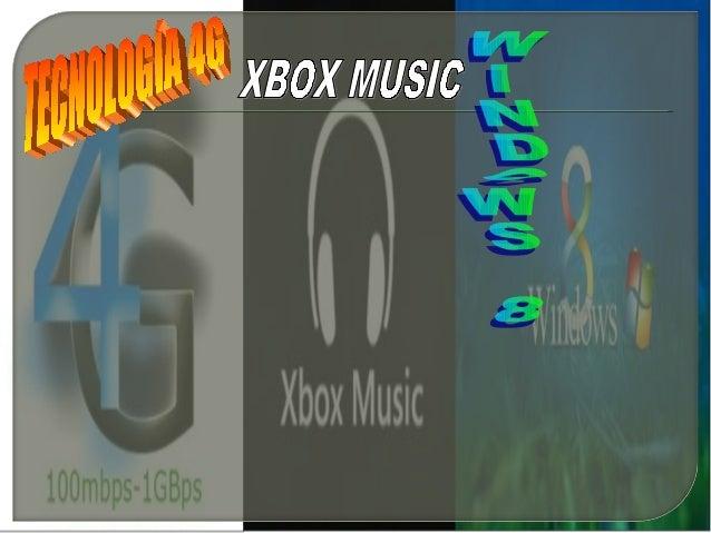 La tecnología 4G se caracteriza por:                                   •Una significativa mejora en la                    ...