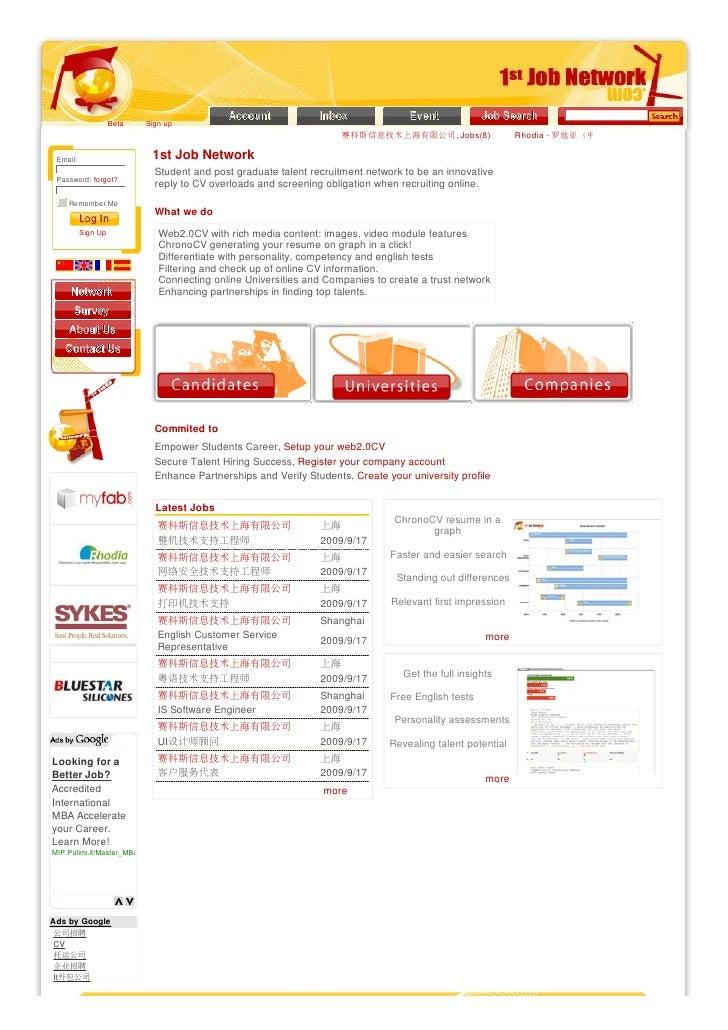 Beta   Sign up                                                                      赛科斯信息技术上海有限公司, Jobs(8)                ...