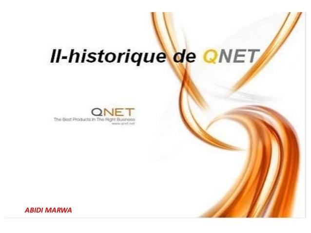 ABIDI.MARWA QNET: qnet history