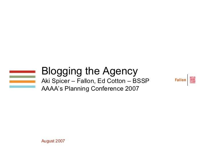AAAABloggingtheAgency.pdf