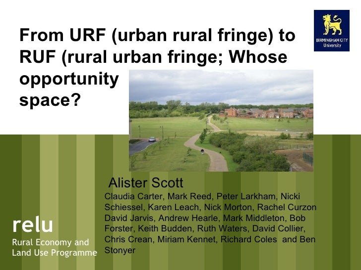 presentation to UK Ireland planning research conference 12-14 September