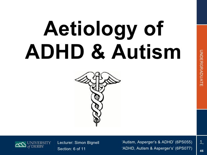 Section 6  - Aetiology of ADHD & Autism
