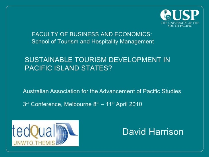 Sustainable Tourism in the Pacific?
