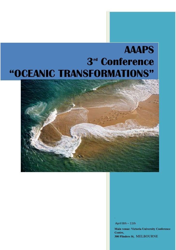 Aaaps  Oceanic Transformations V1