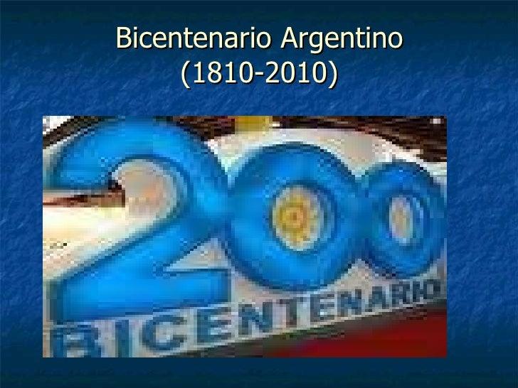 Bicentenario Argentino (1810-2010)