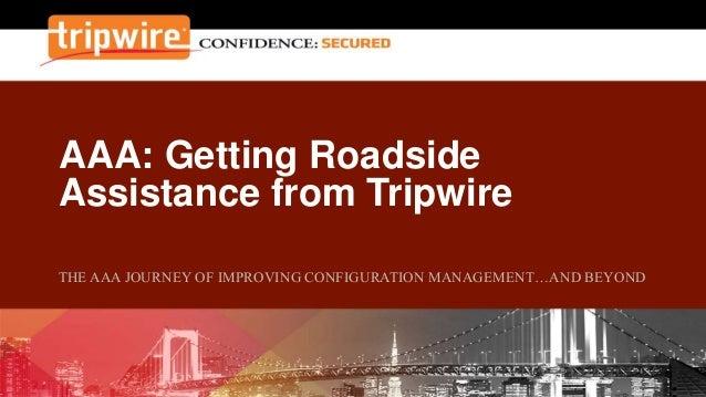 AAA: Getting Roadside Assistance from Tripwire