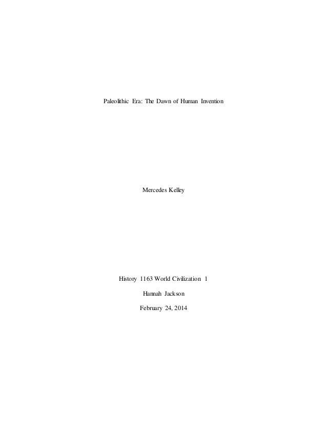 senior project term paper