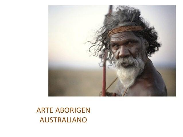 ARTEABORIGEN AUSTRALIANO