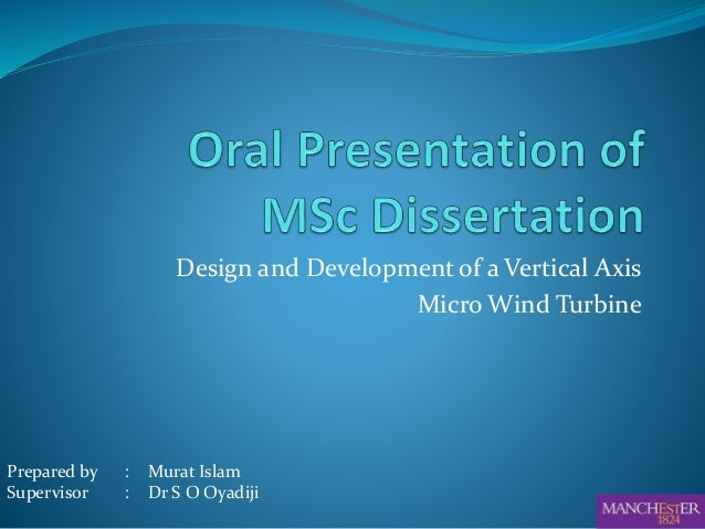 preparing a powerpoint presentation for thesis defence
