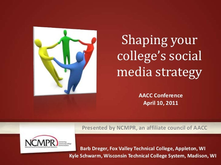 Shaping college social media