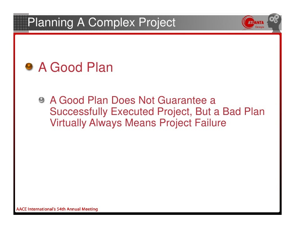 Planning a complex project for How to make a good planner