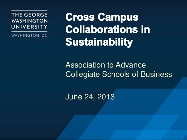 AACSB Cross Campus Collaborations