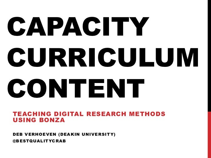 Teaching Digital Research