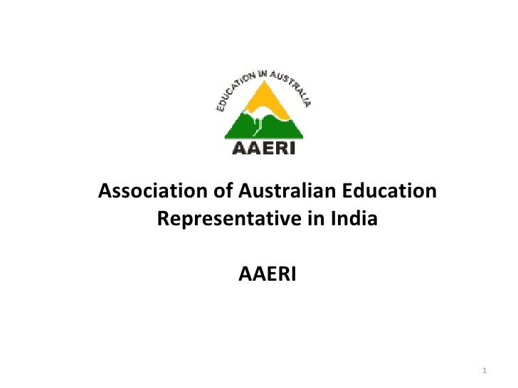 Association of Australian Education Representatives in India AAERI