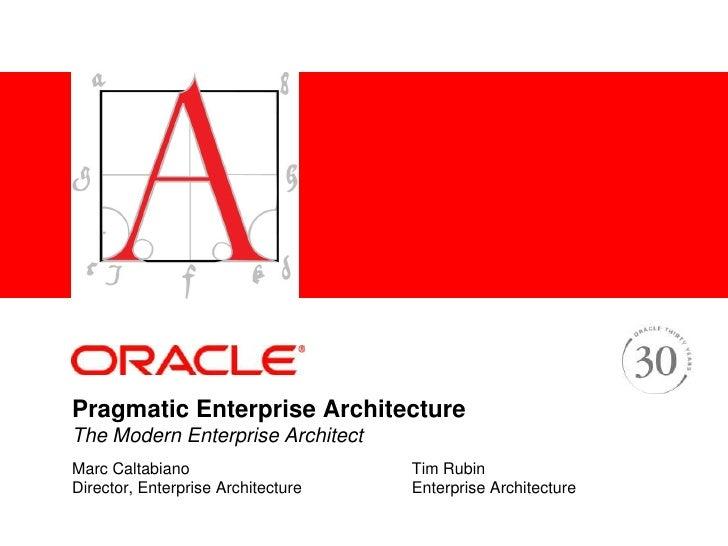 AAF Pragmatic Enterprise Architecture
