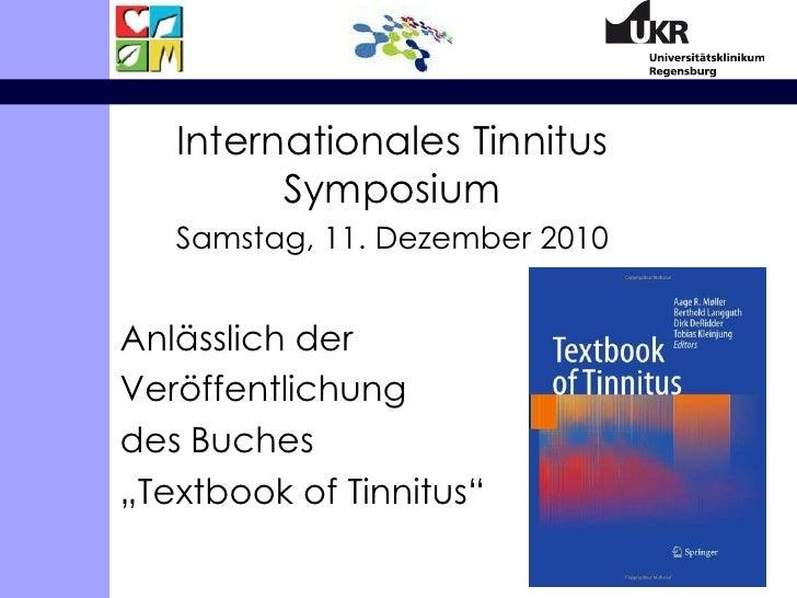 Die Behandlung von Tinnitus: Welche Lehren ziehen wir aus der Forschung?