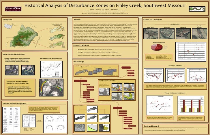 Historical Analysis of Disturbance Zones on Finley Creek, Southwest Missouri<br />Derek J. Martin a and Robert T. Pavlowsk...