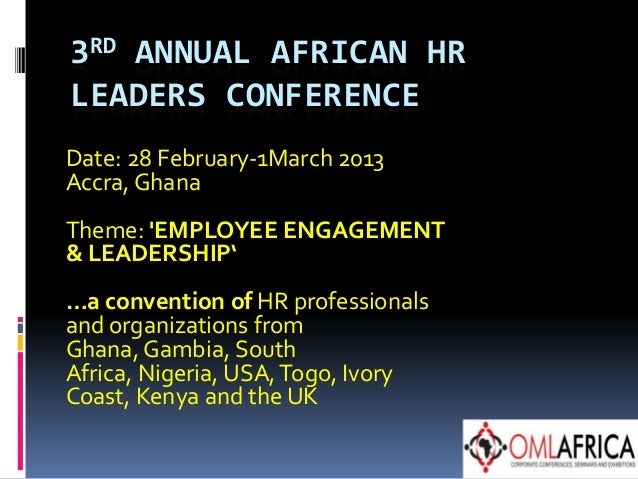 African HR leaders conference
